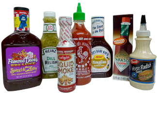 BBQ - DRESSINGS - RELISHES - SAUCES