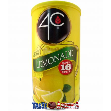 4C Lemonade Drink Mix Makes 16 Quarts 1.021kg