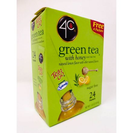 4C Totally Light Green Tea With Natural Lemon Flavour 43.4g