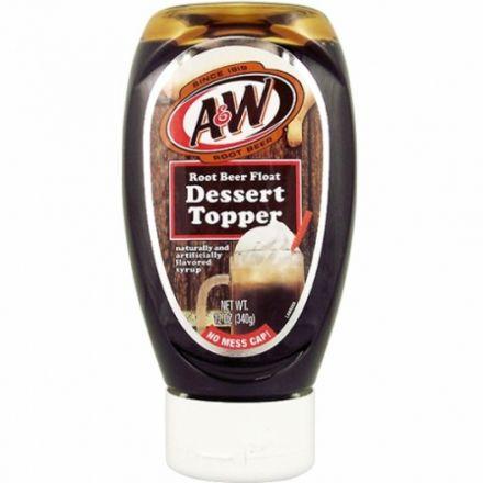 A&W Root Beer Float Dessert Topper 340g