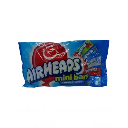 Air Heads Mini Bars Assorted Flavors Soft Chewy Sweets Variety Bag 340g