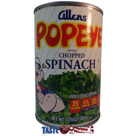Allens Popeye Brand Chopped Spinach 383g