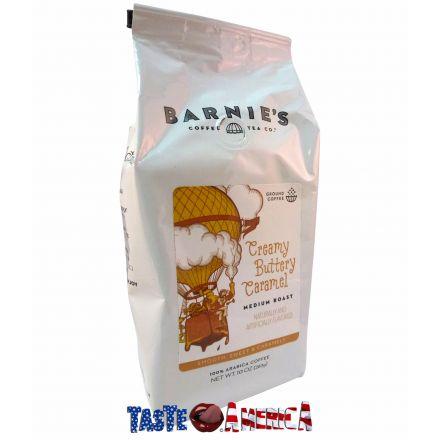 Barnies Coffee Tea Co Creamy Buttery Caramel Medium Roast Ground Coffee 283g