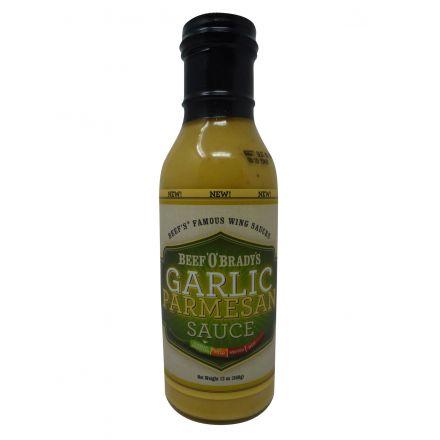 Beef O Bradys Garlic Parmesan Sauce In A 368g Bottle