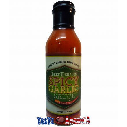 Beef O Bradys Spicy Garlic Wing Sauce 382g