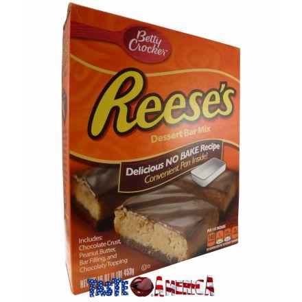 Betty Crocker Reeses No Bake Dessert Bar Mix 453g