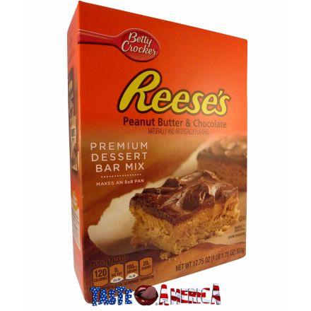 Betty Crocker Reeses Peanut Butter & Chocolate Premium Dessert Bar Mix 503g