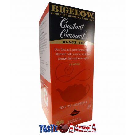 Bigelow Black Tea Constant Comment 28 Tea Bags 47g