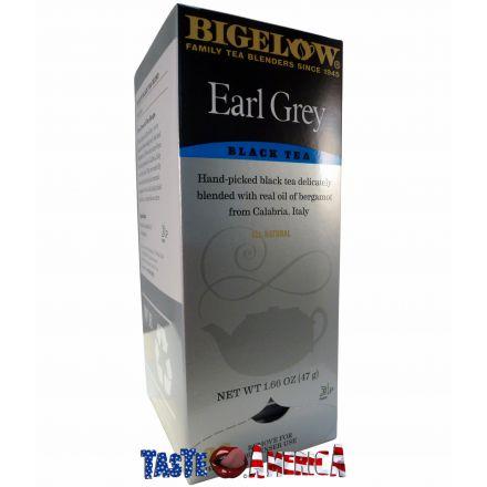 Bigelow Black Tea Earl Grey 28 Tea Bags 47g