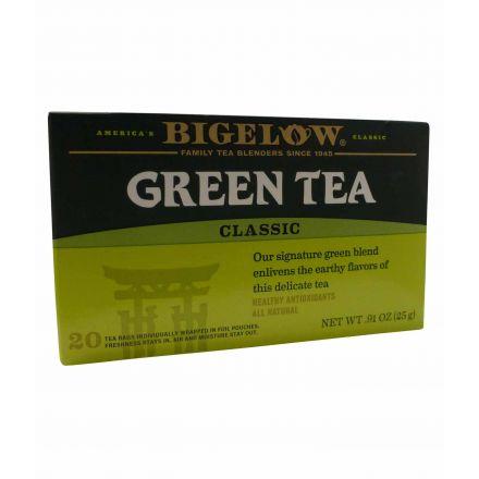 Buy Bigelow Green Tea Classic 20 Tea Bags At Taste America UK