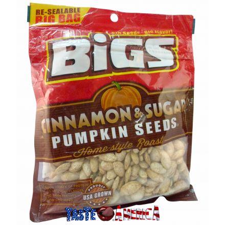 Bigs Cinnamon & Sugar Home-Style Roast Pumpkin Seeds 142g