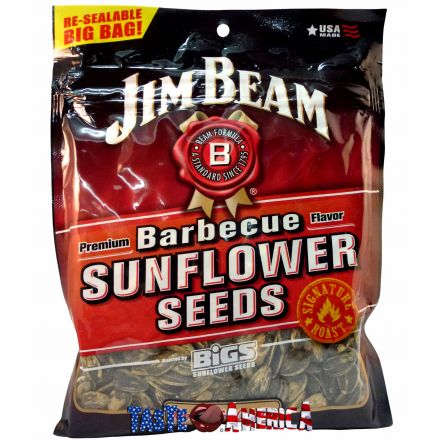 Bigs Jim Beam Barbecue Flavour Sunflower Seeds 146g