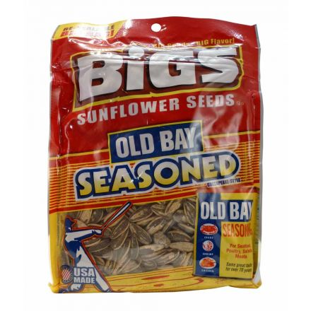 Bigs Old Bay Catch Of The Day Sunflower Seeds In A 152g Bag