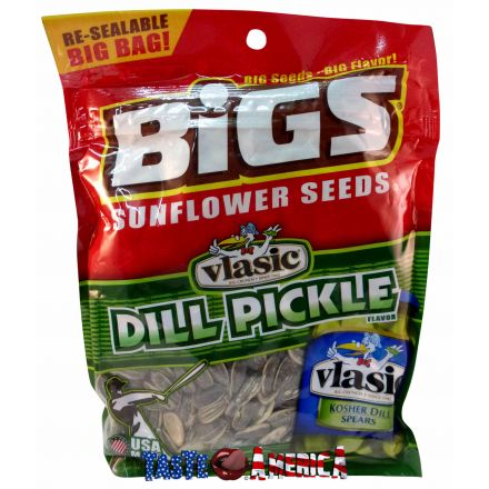 Bigs Vlasic Dill Pickle Flavoured Sunflower Seeds 152g