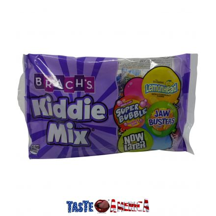 Brachs Kiddie Mix Super Bubble Now And Later Lemonhead & Jaw Busters 156g