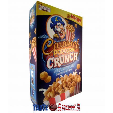 Capn Crunchs Caramel Popcorn Crunch Cereal 461g