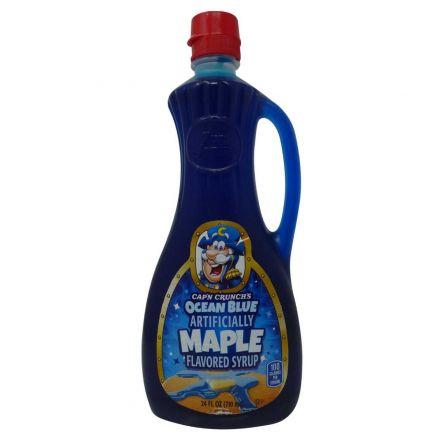 Cap'n Crunch's Ocean Blue Maple Syrup In A 710ml Bottle