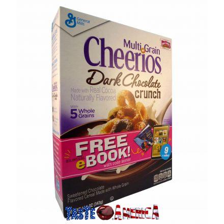 Cheerios Dark Chocolate Crunch Cereal 343g