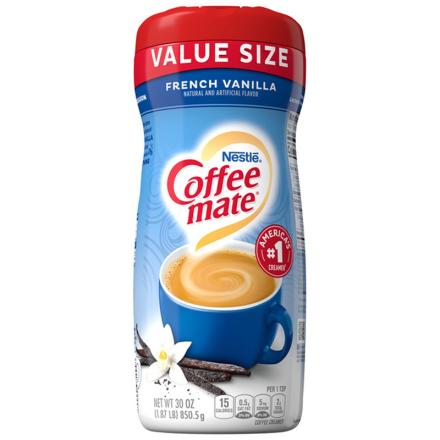 Coffee Mate French Vanilla Powdered Creamer 850.5g