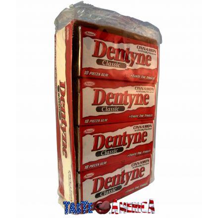 Dentyne Classic Cinnamon Chewing Gum 12 x 18 Stick Packs