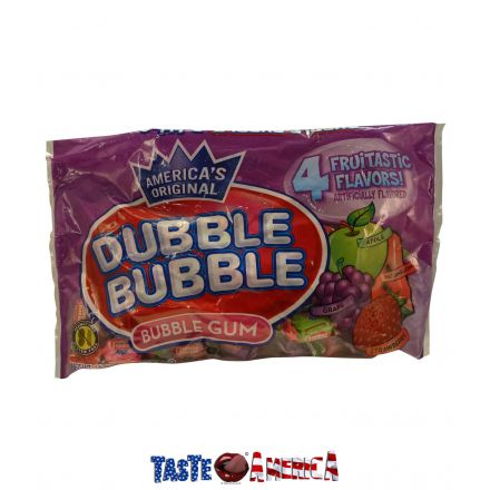 Dubble Bubble 4 Fruitastic Flavours Bubble Gum 453g