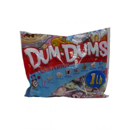 Buy Dum Dums Limited Edition Dessert Flavors Assorted Candy Pops At Taste America UK