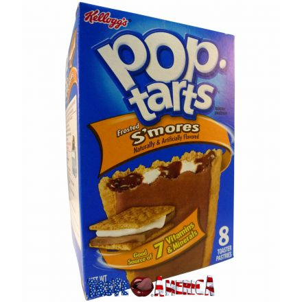 Kelloggs Pop-Tarts Frosted Smores Toaster Pastries 8 ct 416g S'mores