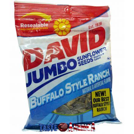 David Buffalo Style Ranch Jumbo Sunflower Seeds 149g
