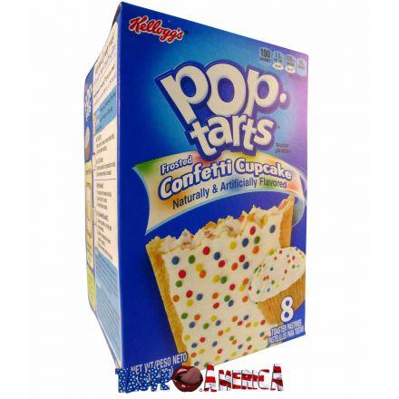 Kelloggs Pop-Tarts Confetti Cupcake Toaster Pastries 8ct 400g
