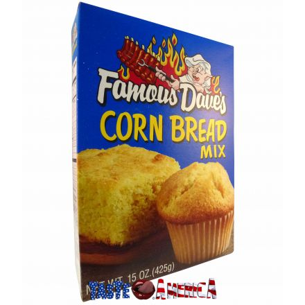 Famous Daves Corn Bread Mix 425g