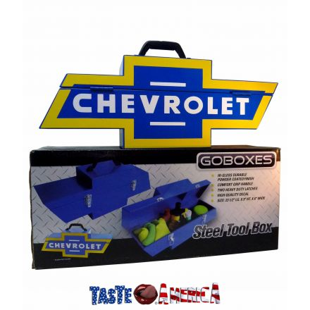 Goboxes Chevrolet Steel Tool Box Car Fanatic Or Garage Display A Great Gift Idea