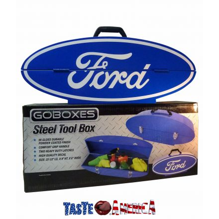 Goboxes Ford Official Licensed Merchandise Collectable Steel Tool Box