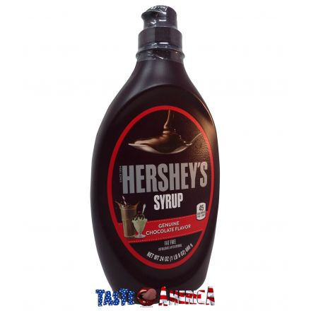 Hersheys Chocolate Flavour Fat Free Syrup 680g