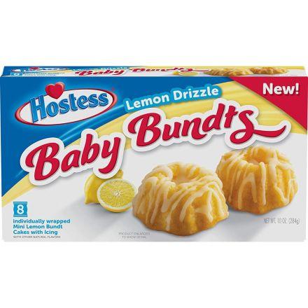Hostess Lemon Drizzle Baby Bundts
