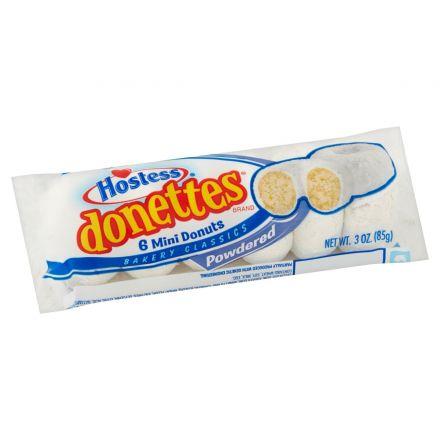 Hostess Powdered Sugar Mini Donettes