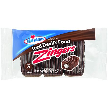 Hostess Zingers Devils Food 3 Cake Pack