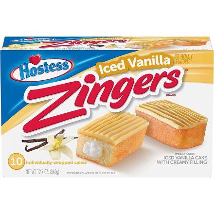 Hostess Zingers Iced Vanilla