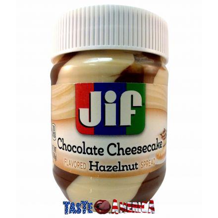 Jif Chocolate Cheesecake Hazelnut Flavoured Spread 368g