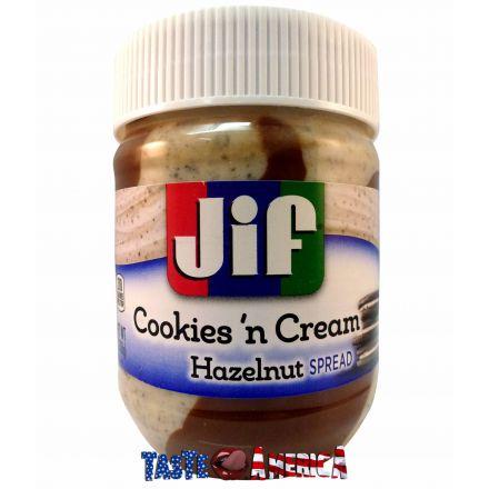 Jif Cookies N Cream Flavoured Hazelnut Spread 368g