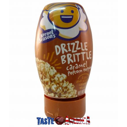 Kernel Seasons Drizzle Brittle Caramel Popcorn Topping 371g