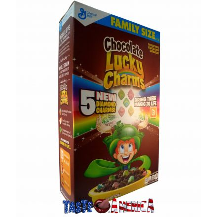 Lucky Charms Chocolate Cereal With Marshmallows 601g