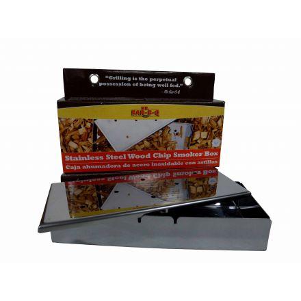Mr Bar-B-Q Stainless Steel Wood Chip BBQ Smoker Box