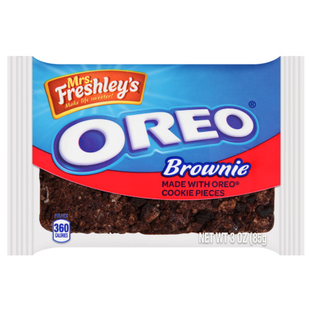 Mrs Freshleys Deluxe Oreo Brownie