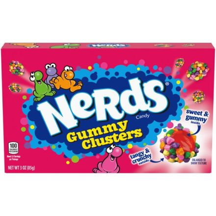 Nerds Gummy Clusters Candy 85g