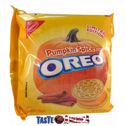 Oreo Pumpkin Spice Creme Flavour Sandwich Cookies 345g