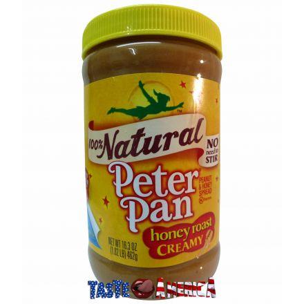 Peter Pan 100 % Natural Honey Roast Creamy Peanut Butter 462g