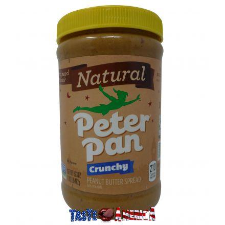 Peter Pan Crunchy Natural Peanut Butter Spread 462g