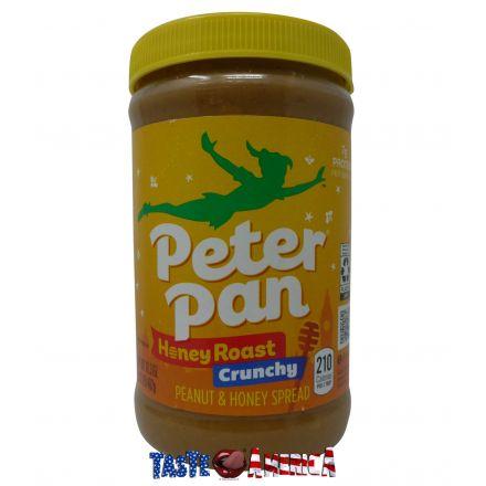 Peter Pan Honey Roast Crunchy Peanut Butter 462g