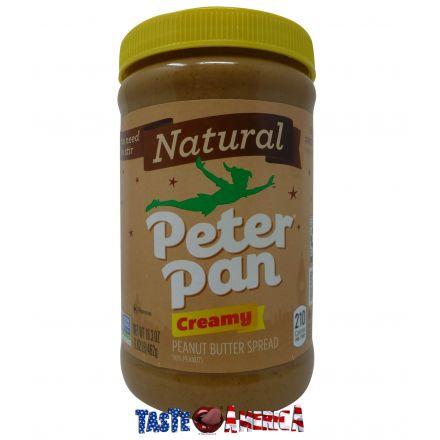 Peter Pan Natural Peanut Butter Creamy 462g