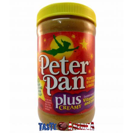 Peter Pan Plus Creamy Peanut Butter 462g